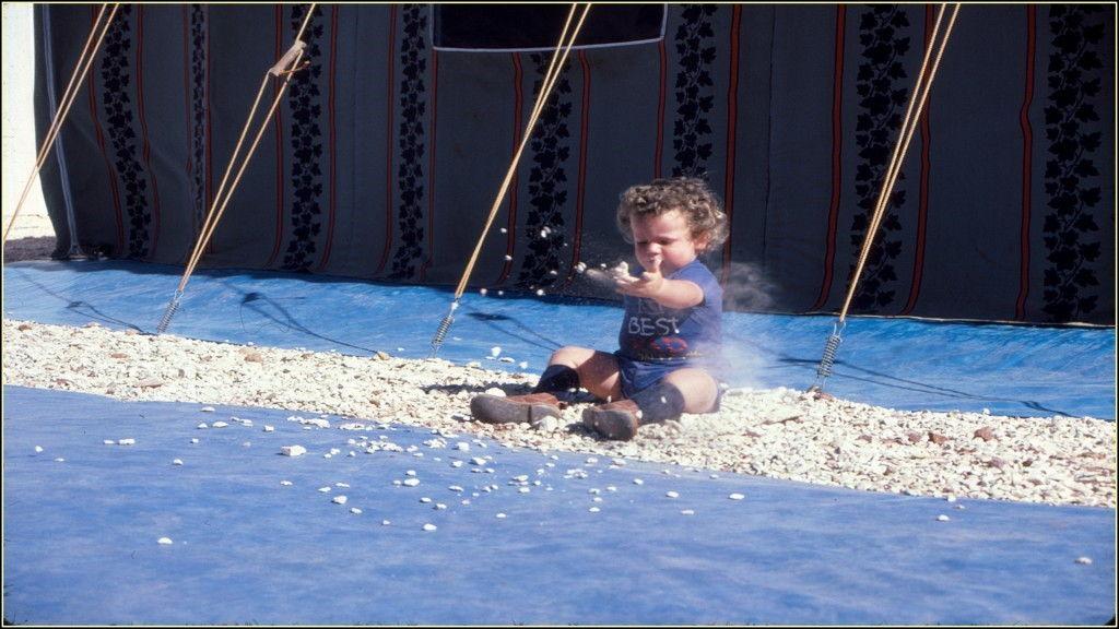 Michael as a cute toddler