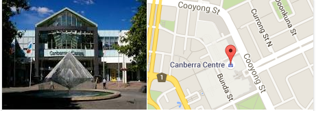 Mineshaft is located in the Canberra Centre