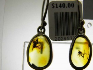 INSECTS in BALTIC AMBER A$140