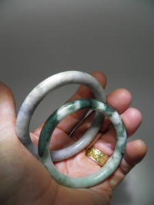 JADEITE Bracelets (natural colour) $50 each