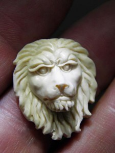 Mammoth Ivory Jewellery carving piece $40