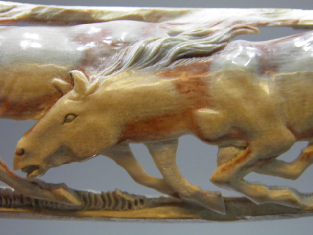 Horses in Mammoth Ivory Code 20399634 A$900