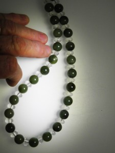 JADE & CRYSTAL beads Code 20332327 A$150