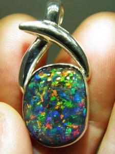 OPAL TRIPLET (20x15mm) Sterling silver Code 20301323 A$400