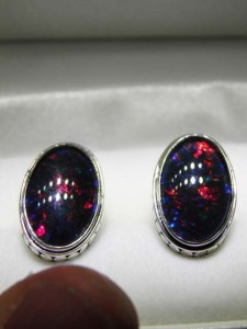 Another view sterling silver cufflinks A$350