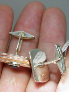 Another view Sterling silver Cufflinks A$130