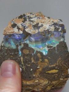 BOULDER OPAL specimen (153 grams) A$100