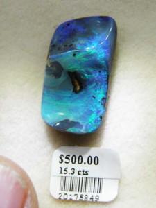 BOULDER OPAL 23mm x 12mm 15.3 carats A$500