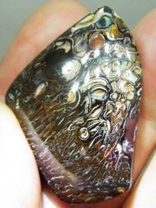 BOULDER OPAL MATRIX 43mm x 30mm 92 carats A$