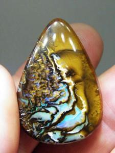 BOULDER OPAL MATRIX 37mm x 25mm 54 carats A$150