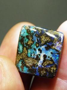 BOULDER OPAL MATRIX 20mm x 19mm 29.2 carats A$150
