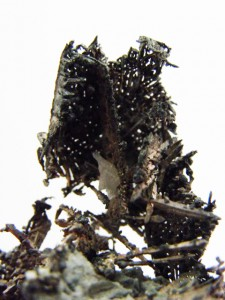Close up of silver specimen
