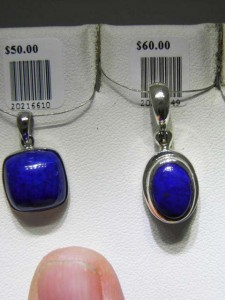 LAPIS pendants 2 of many A$50 and A$60