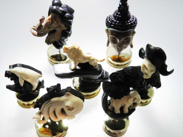 AUSSIE WOOD & FOSSIL MAMMOTH IVORY A selection from our new carvings