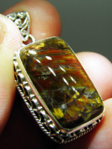 PIETERSITE sterling silver pendant Code 20376482 A$70