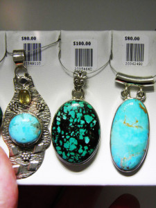 TURQUOISE Set in sterling silver Many more available