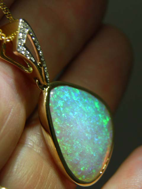 Large CRYSTAL OPAL