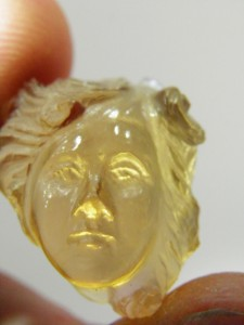 Another view of Citrine Lady