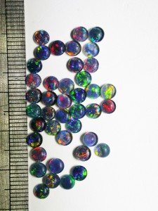 OPAL TRIPLET (4mm round $5 each