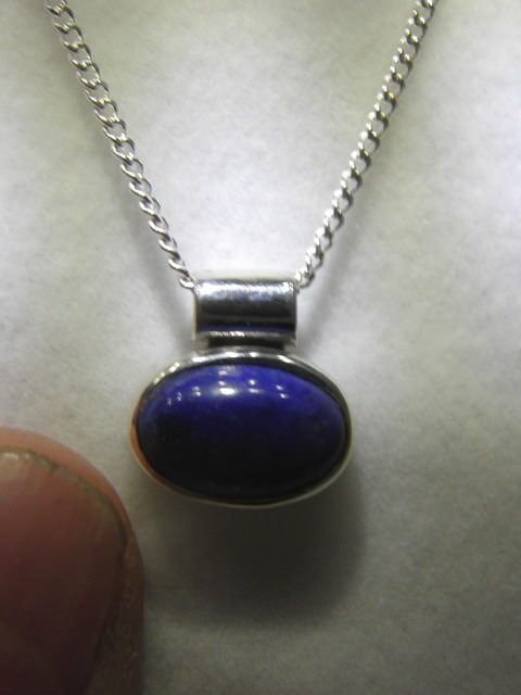 Lapis pendant