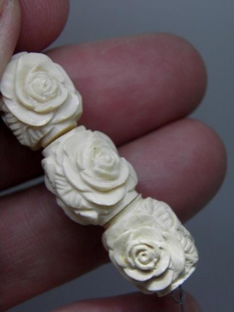MAMMOTH IVORY beads