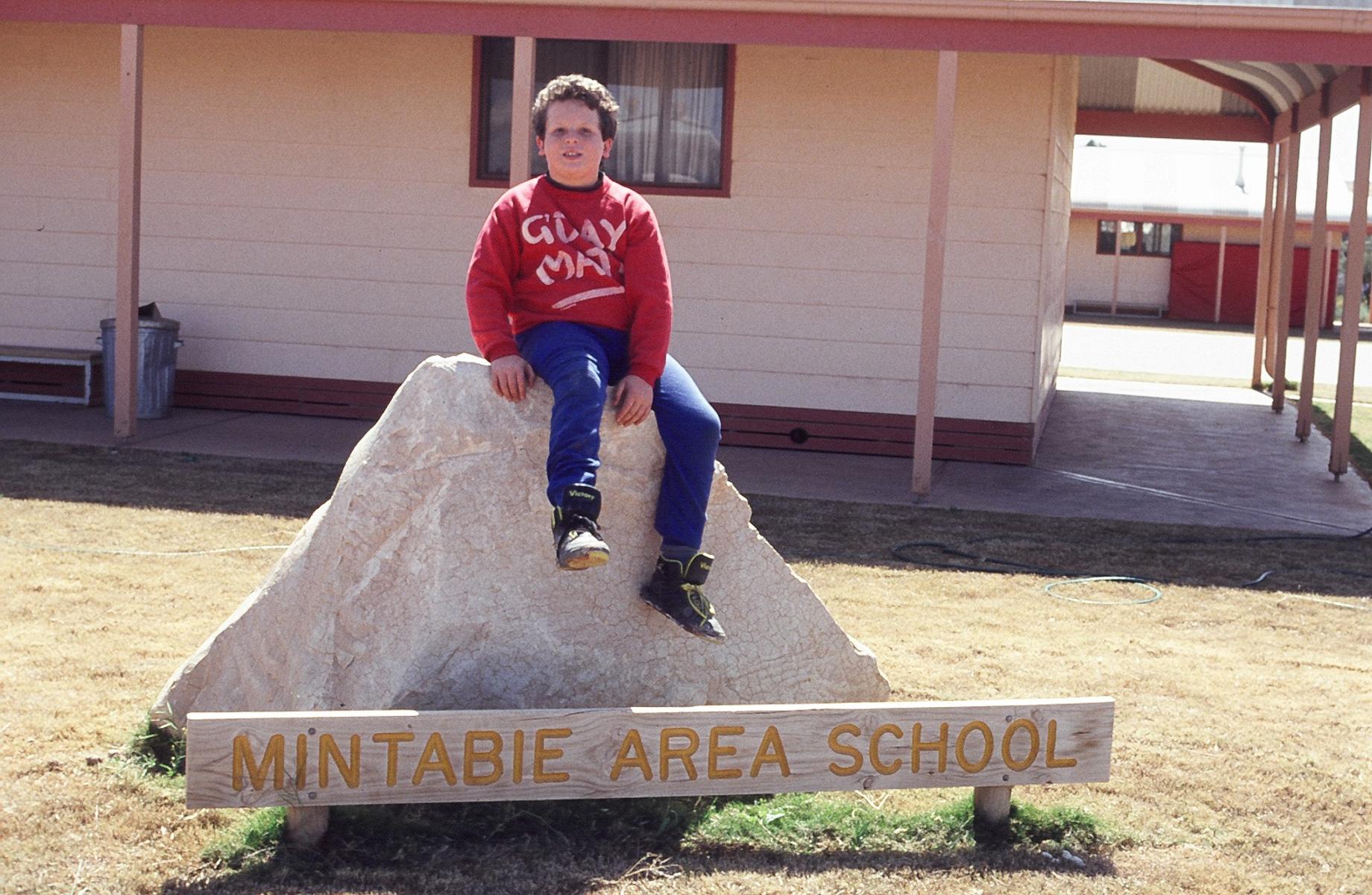 michael at school